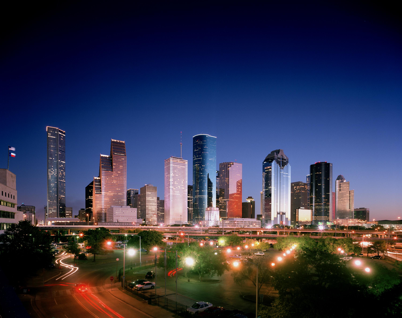 Power-of-Houston-Skyline