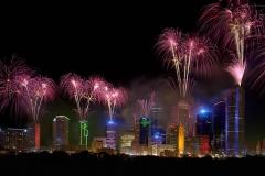 Downtown-fireworks
